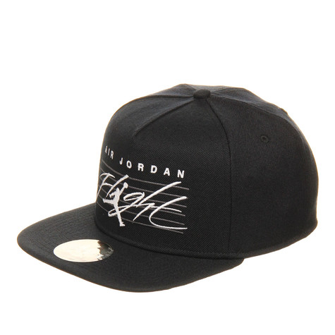 b15df20c Jordan Brand - Air Jordan Flight Snapback Cap (Black / Black / Dark ...