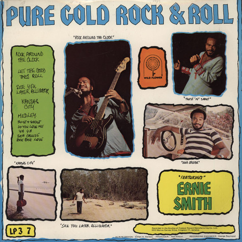 Ernie Smith - Pure Gold Rock & Roll, Pure Gold Rock Steady