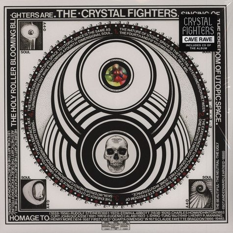 Crystal Fighters - Cave Rave Red Vinyl