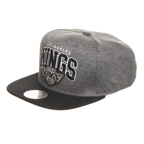 Mitchell & Ness - Los Angeles Kings NHL Team Arch Jersey Snapback Cap