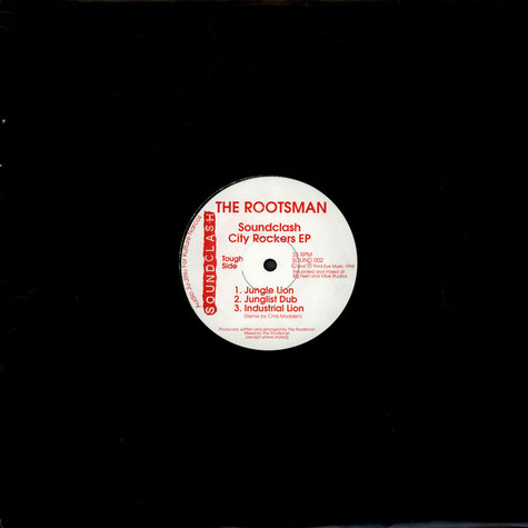 Rootsman, The - City Rockers EP