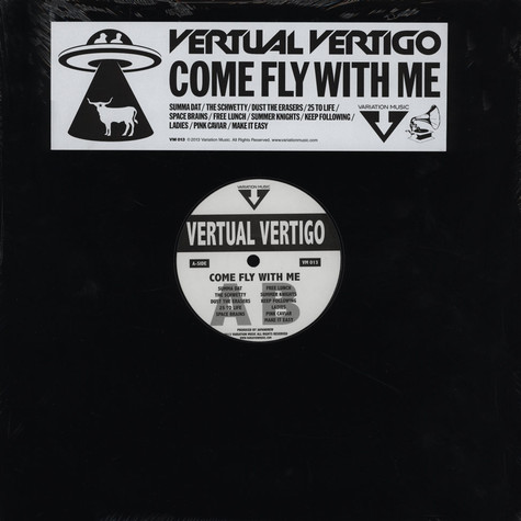 Vertual Vertigo - Come Fly With Me EP