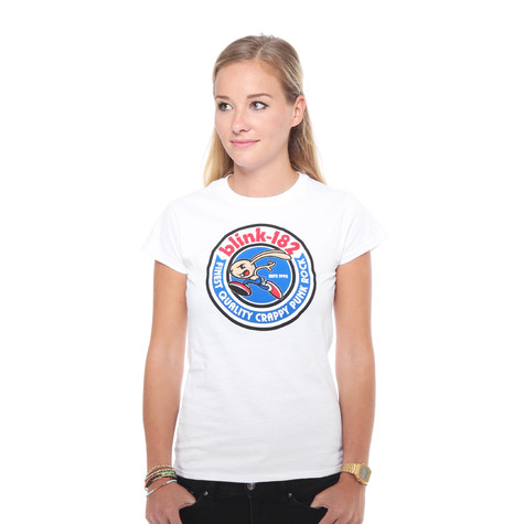 Blink 182 - Bunny Seal Women T-Shirt