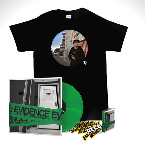 Evidence of Dilated Peoples - Green Tape Instrumentals Deluxe Bundle