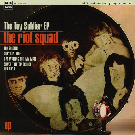 Riot Squad, The (David Bowie) - The Toy Soldier EP