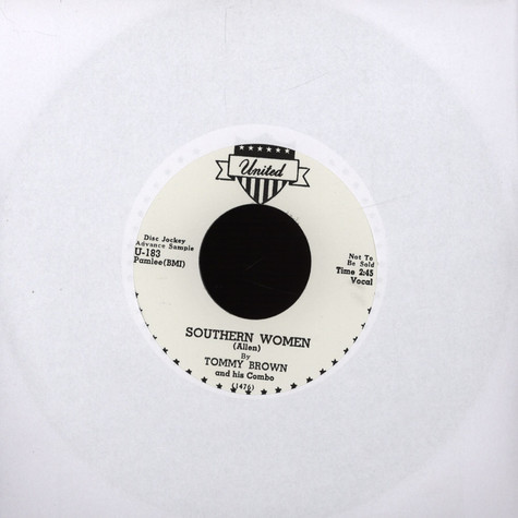 Tommy Brown / Big Walter - Southern Women / Back Home To Mama