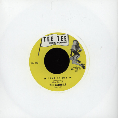Genteels, The / The Jesters - Take It Off / Peter Gunn Twist