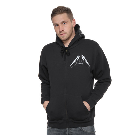 Metallica - Mop Faded Zip-Up Hoodie