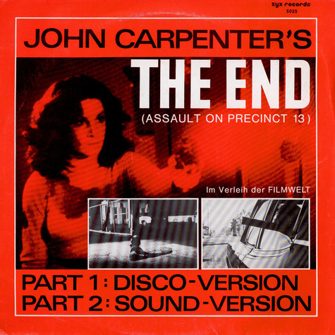 John Carpenter - OST The End (New Scratch-Mix)