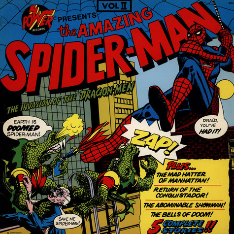 Unknown Artist - The Amazing Spiderman:  Invasion Of The Dragon Men Vol II