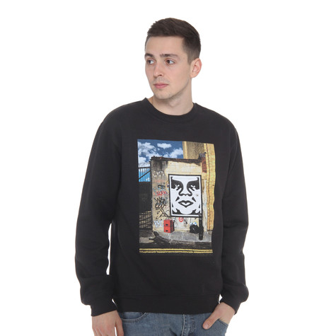 Obey - London Icon Photo Crewneck Sweater