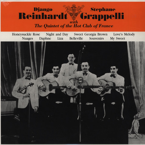 Django Reinhardt & Stephane Grappelli - With The Quintet Of The Hot Club Of France