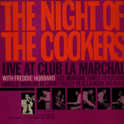 Freddie Hubbard - The Night Of The Cookers - Live At Club La Marchal, Volume 1