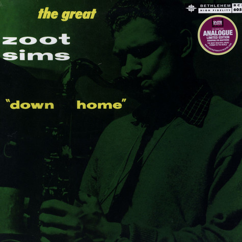 Zoot Sims - Down Home