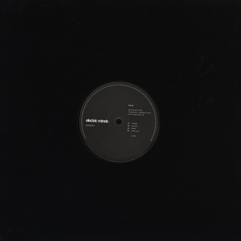 Fold - Upstairs For Thinking, DownStairs For Dancing EP