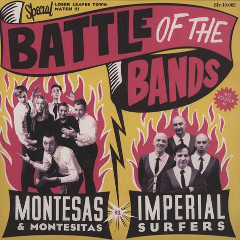 Montesas / Imperial Surfers - Battle Of The Bands