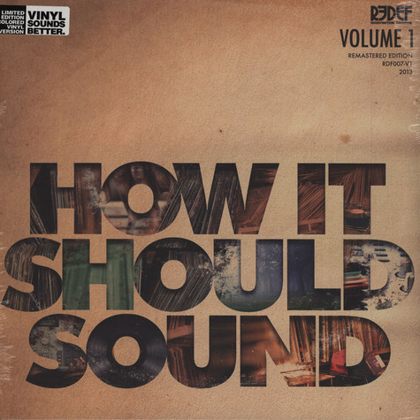 Damu The Fudgemunk - How It Should Sound Volume 1 Bone Vinyl Edition