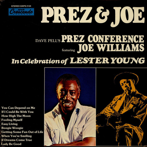 Dave Pells - In Celebration Of Lester Young feat. Joe Williams