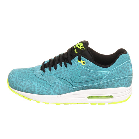 hot sales e202b 100c0 Nike. Air Max 1 FB QS (Current Blue   Current Blue   Black   Volt)