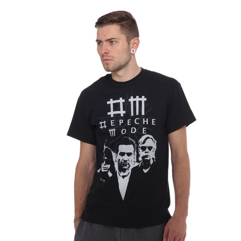 Depeche Mode - Black Photo T-Shirt