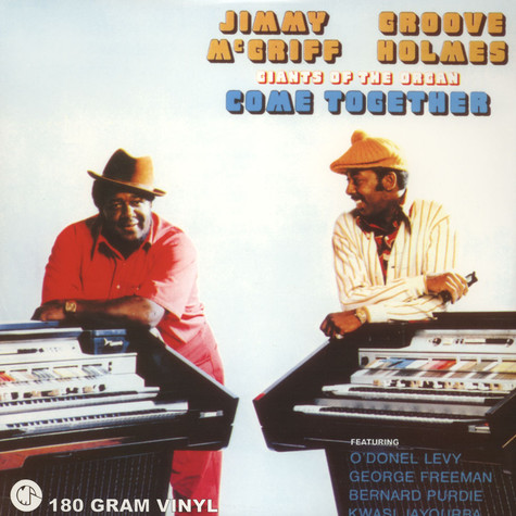 Jimmy McGriff & Groove Holmes - Giants Of The Organ Come Together