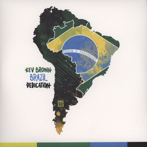 Kev Brown - Brazil Dedication Black Vinyl Edition