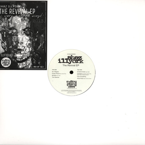 Shaz Illyork - The Revival EP