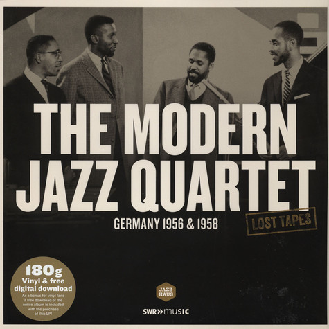 Modern Jazz Quartet - Lost Tapes: Germany 1956-1958