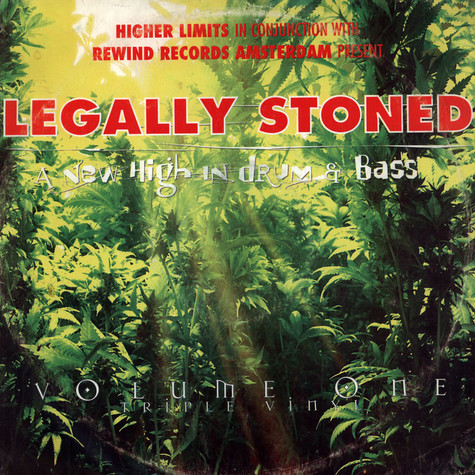 V.A. - Legally Stoned - A New High In Drum & Bass Volume 1