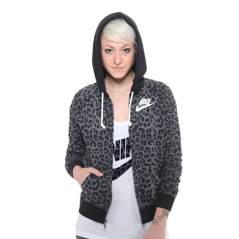 Nike - Rally Full-Zip Cheetah Women Hoodie