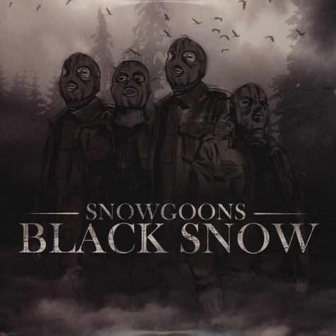 Snowgoons - Black Snow Volume 1 White Vinyl Edition