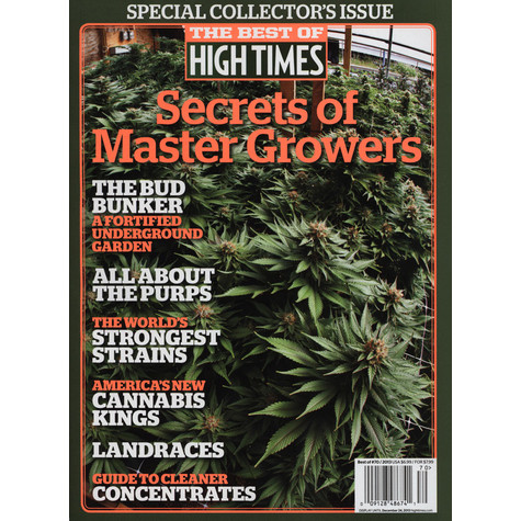 High Times Magazine - The Best Of High Times - Sectrets Of Master Growers 2013