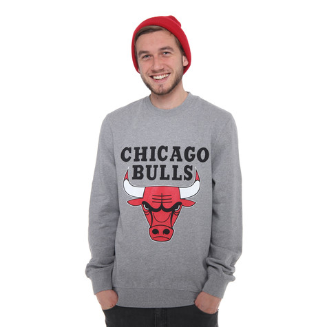 Mitchell & Ness - Chicago Bulls NBA Team Logo Crew Sweater