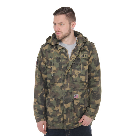 Wu-Tang Brand Limited - Spray Camo Field Jacket