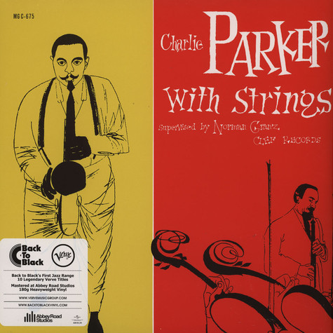 Charlie Parker - With Strings Back To Black Edition