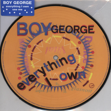 Boy George - Everythig I own