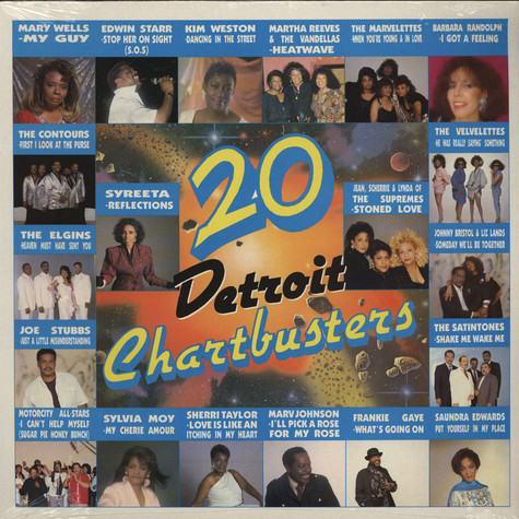 V.A. - 20 Detroit Chartbusters  Volume 2
