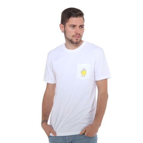 Cleptomanicx - Pocket Zitrone T-Shirt