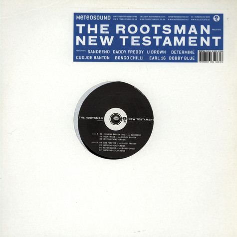 Rootsman, The - New Testament
