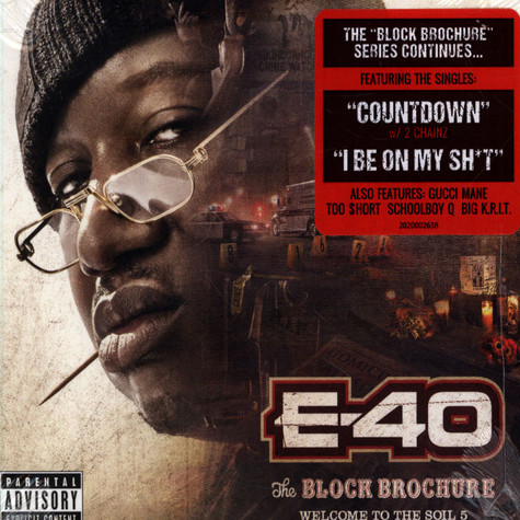 E-40 - Block Brochure: Welcome To The Soil Volume 5