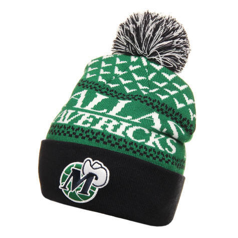 Mitchell & Ness - Dallas Mavericks NBA Nujacq Cuffed Knit Beanie