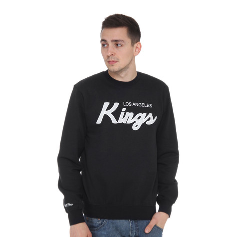 Mitchell & Ness - LA Kings NHL Script Crewneck Sweater