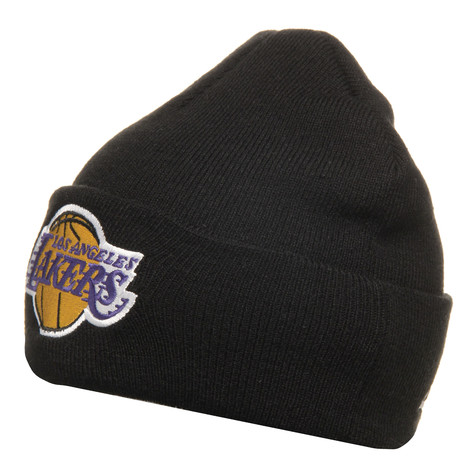 Mitchell & Ness - LA Lakers NBA Cuffed Knit Beanie
