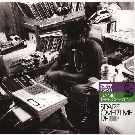 Damu The Fudgemunk - Spare Overtime Deluxe Edition