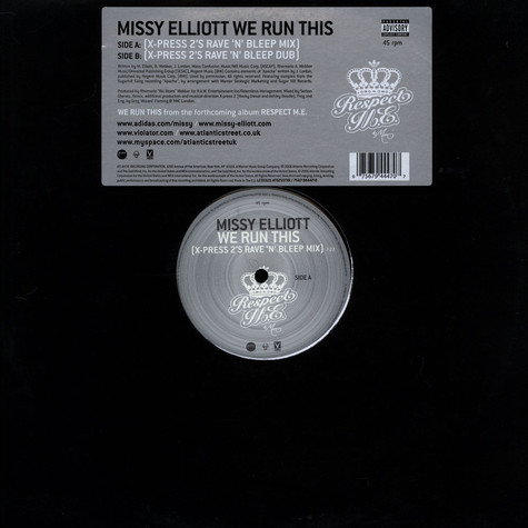 Missy Elliott - We run this X-Press 2 Rave n Bleep mix