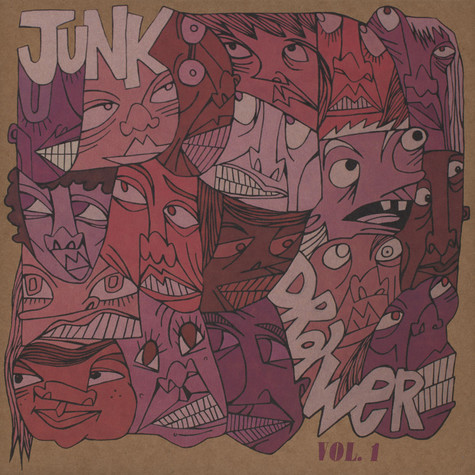 Headnodic of Crown City Rockers - Junk Drawer Volume 1 Purple Vinyl Edition