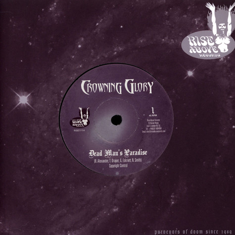Crowning Glory  /Gates Of Slumber - Dead Man's Paradise / Riddle