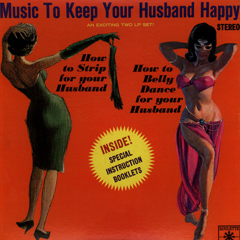 Sony Lester & His Orchestra - How To Belly Dance For Your Husband / How To Strip For Your Husband