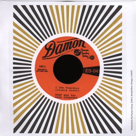 Bump & The Soul Stompers - I Can Remember / Standing On The Out