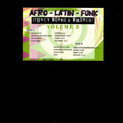 V.A. - Afro-Latin-Funk, Funky Beats & Breaks Vol 3.